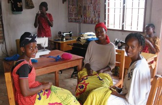 Sewing Workshop in Burundi