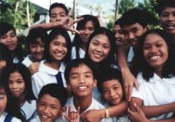 ピリピン人の学生