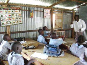Kenya classroom