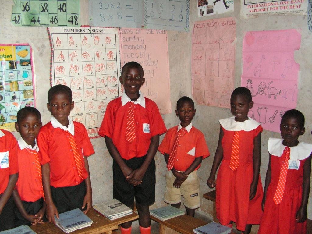 ウガンダの学生